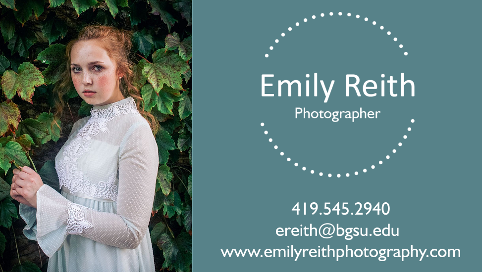 Emily Reith Business Card